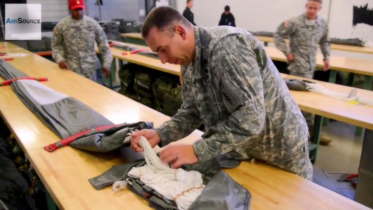 Riggers Pack T-11 Reserve Parachute