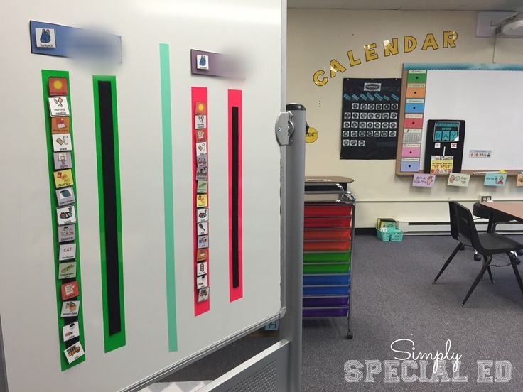 A look inside my Autism Classroom! Check out this Autism Classroom Setup!