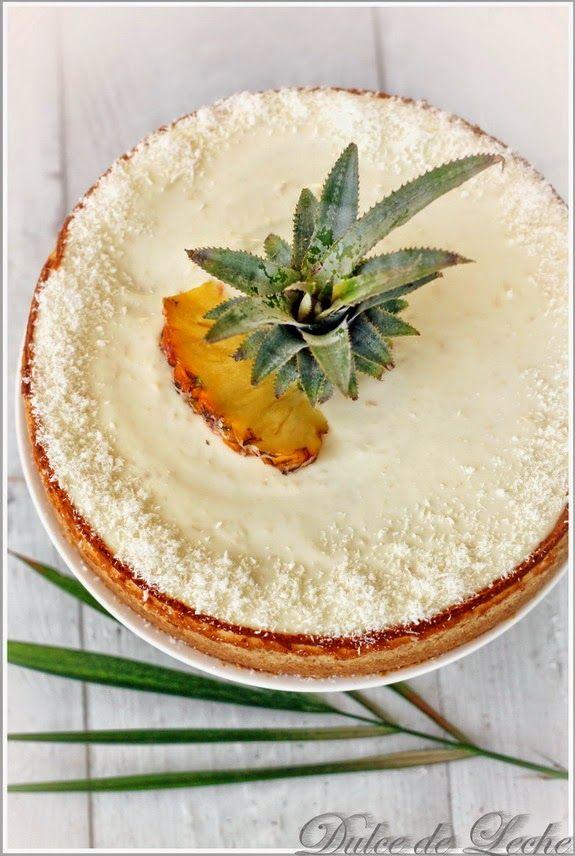 Dulce de Leche: Piña Colada Cheesecake