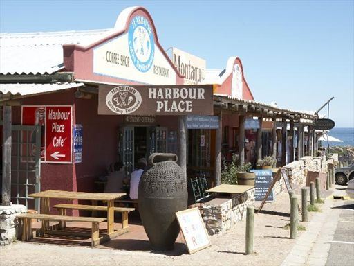 Kleinmond  - Harbour Place Coffee shop - about 1,5 hours from Cape Town