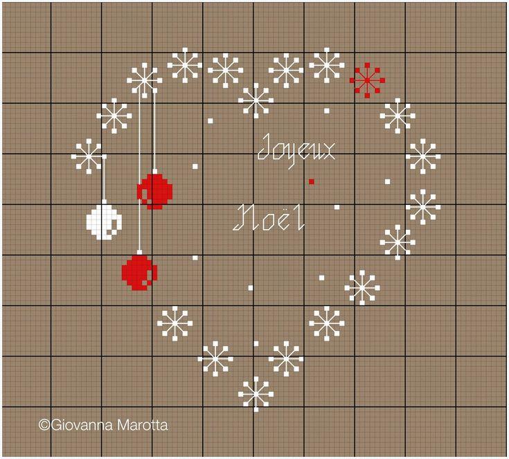 Cross stitch  *<3* Point de croix joyeux noel e merry christmas!!!