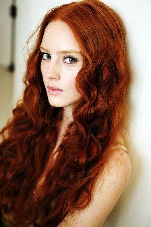 Rote haare herbst