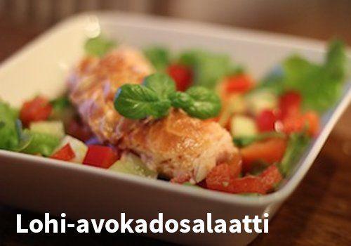 Lohi-avokadosalaatti #kauppahalli24 #resepti #salaatti #lohi