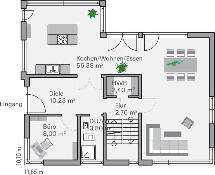 Die besten 25+ Grundriss erstellen Ideen auf Pinterest kleines - badezimmer grundriss planen