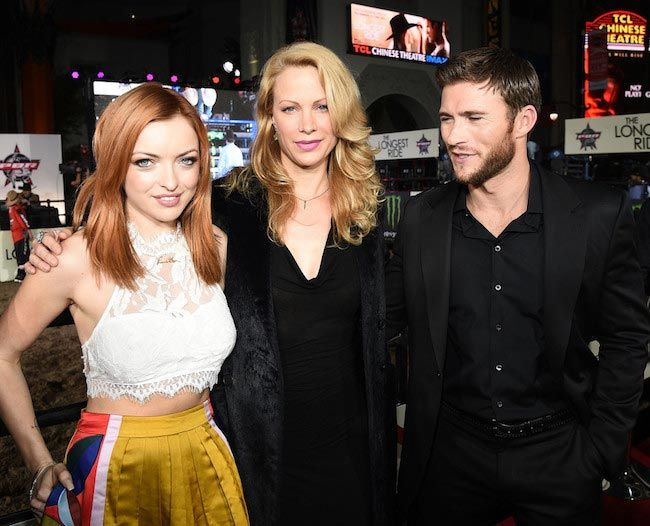 "Francesca Eastwood, Alison Eastwood and Scott Eastwood (From Left to Right) at ""The Longest Ride"" premiere in April 2015..."