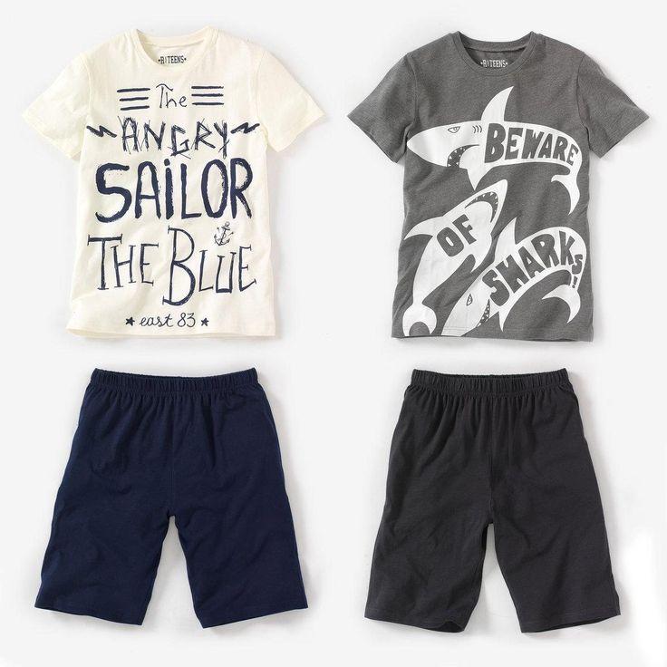 Print Jersey Pyjashort (lot of 2) R Kids | La Redoute