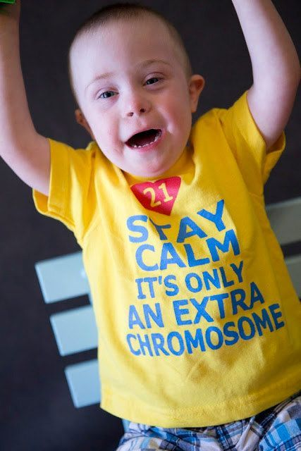 This listing is for a stay calm its only an extra chromosome childrens t shirt. This is hand painted, not an iron on transfer. You can customize