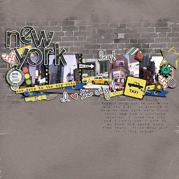 New York - Scrapbook.com  Thank you sharing and see my layout inspired by this on http://margaretlcrawford.blogspot.com