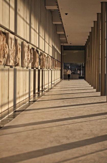 New Acropolis museum, Athens Bernard Tschumi