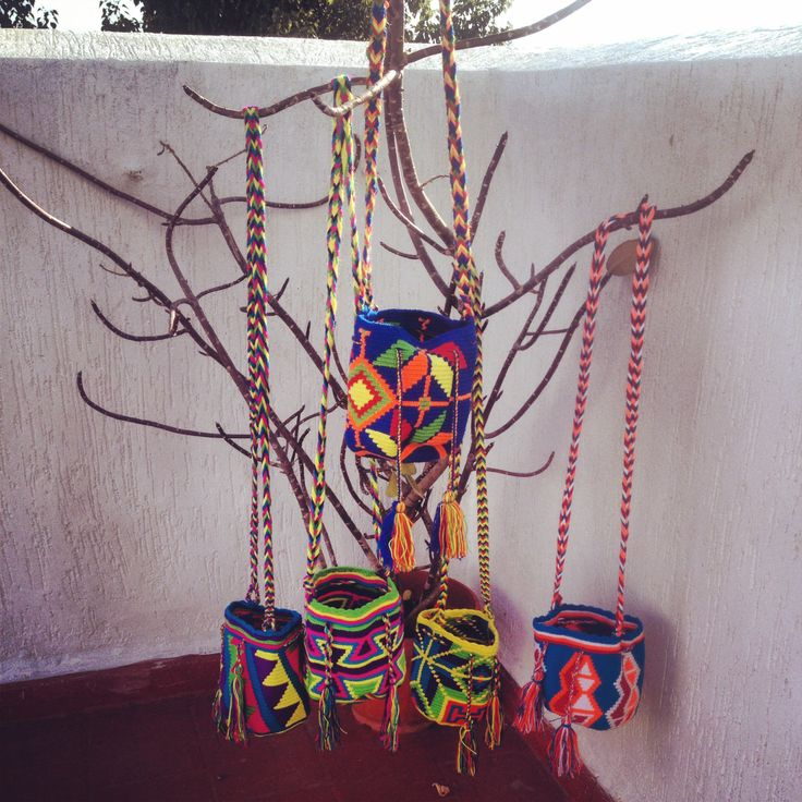 Mini mochila wayuu Bags handmade with love #MELZAZ