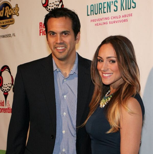 Miami Heat coach Erik Spoelstra is dating a former Heat dancer