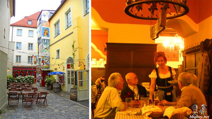 Augustiner restaurant, Regensburg, Germany