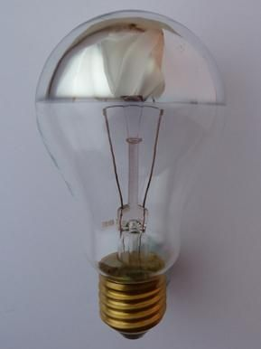 Reflector filament light bulb, Light bulbs, Light bulbs and cable, Contemporary lighting, Holloways of Ludlow