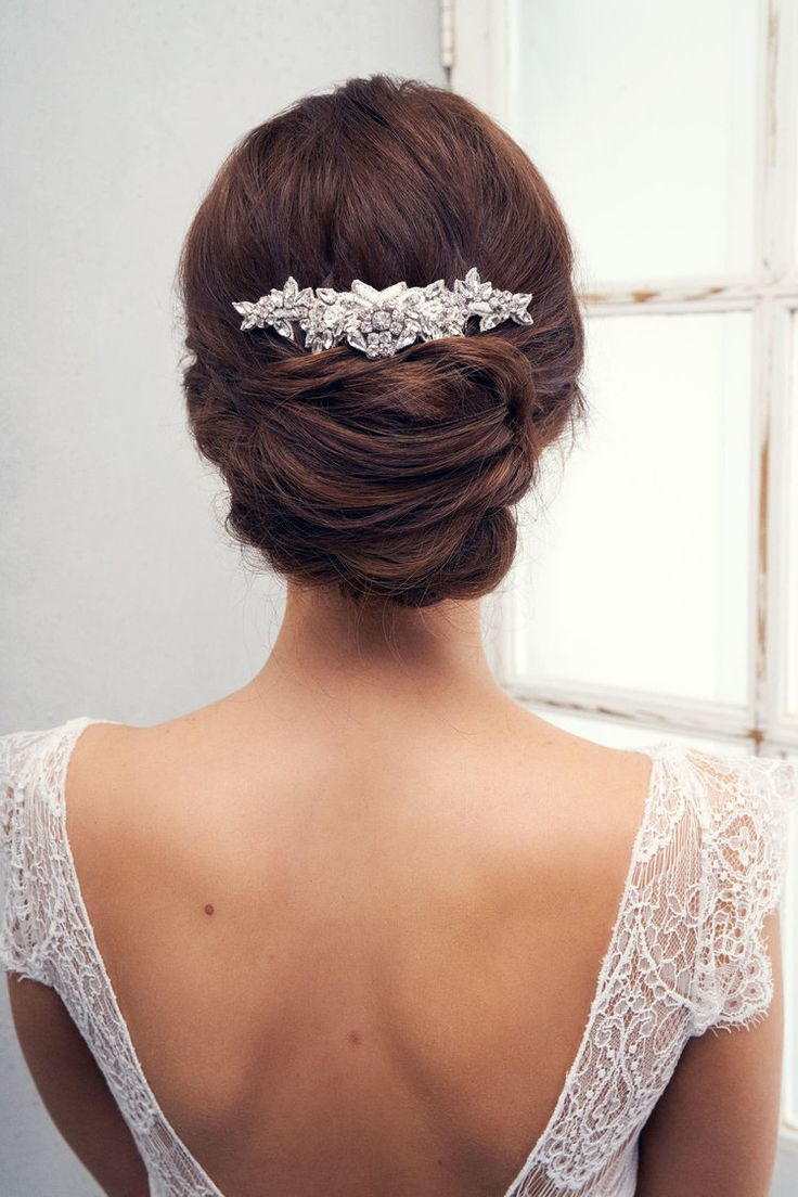 Hair accessories melbourne - Anna Campbell Bridal Accessories And Jewellery Vintage Inspired Belle Hair Comb