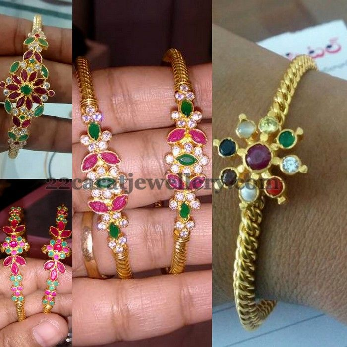 More Designs of 5 to 6grams Bangles | Jewellery Designs