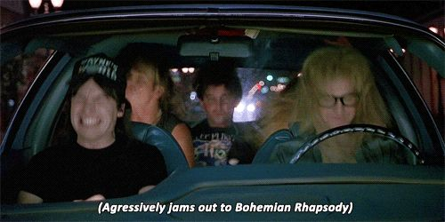 wayne's world, 1992.