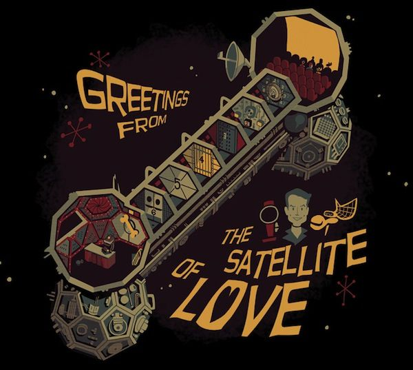 Greetings from the Satellite of Love!
