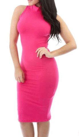 Curvy Sleeveless Midi Dress – Curvy Craves Boutique $23 shopcurvycraves.com