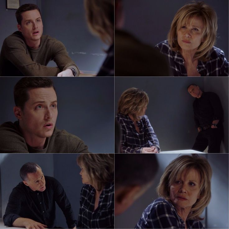 Halstead: What I want to know is how does this fit into the scam that you're running on Erin? Bunny: What scam? Halstead: You tell me. You came around last week. She's worried. She's talking about you saying you're leaving town. What's going on? Bunny: Hank, can we speak alone? There is no scam. He still has feelings for my daughter, I think, and that's why he's taking it out on he's taking it out on me. (4x23)