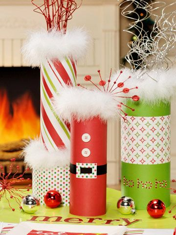 this can be so cute with paper that matches the presents under the tree