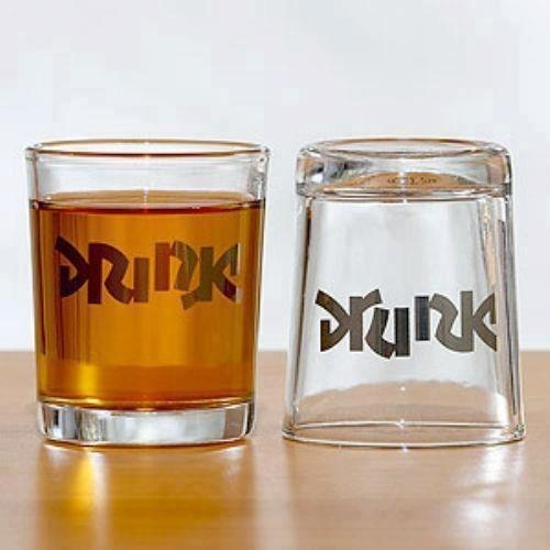 Ambigramma Drink / Drunk
