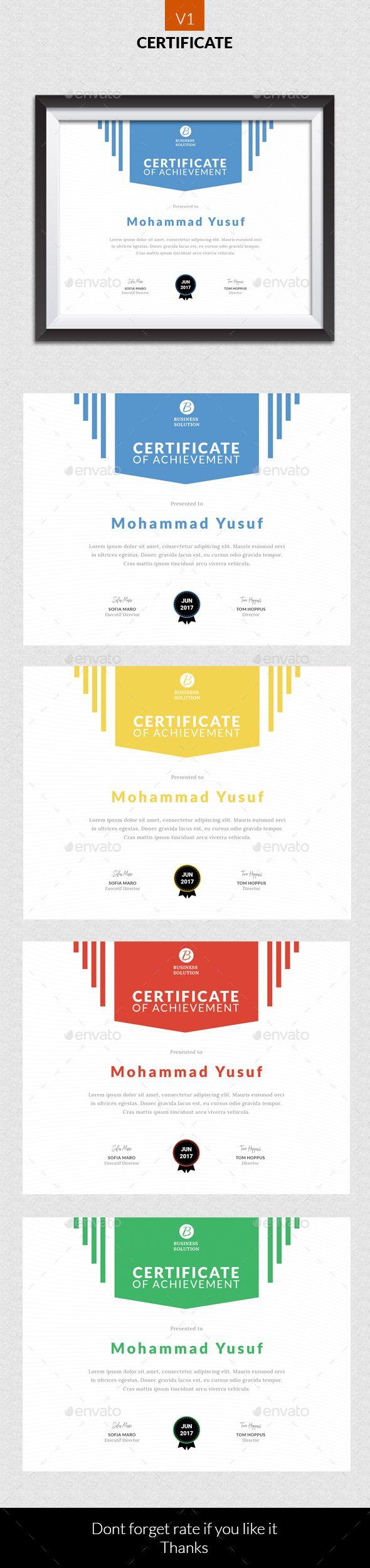 15 besten Work Certificates Bilder auf Pinterest ...
