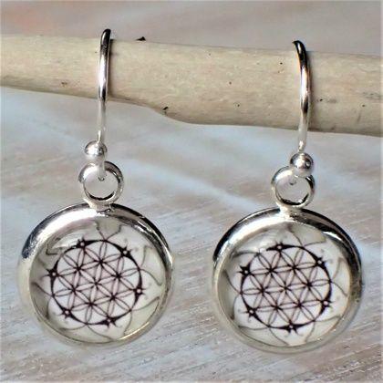 Mandala Earrings.