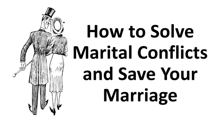 how to solve conflicts in a relationship