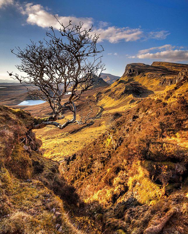 Наедине с просторами... Величественные пейзажи острова Скай, Шотландия