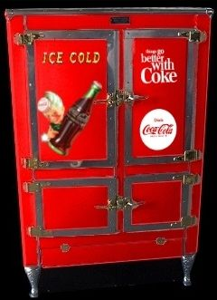 Coca Cola Custom Refrigerator - Man Cave Heaven