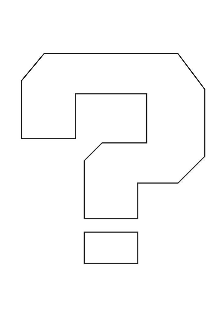 super mario brothers question mark printable | this life size super mario question mark block plays random mario ...