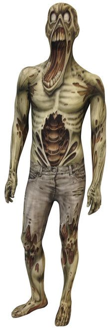 Kids Scary Zombie Morphsuit Halloween Costume - The Costume Shoppe
