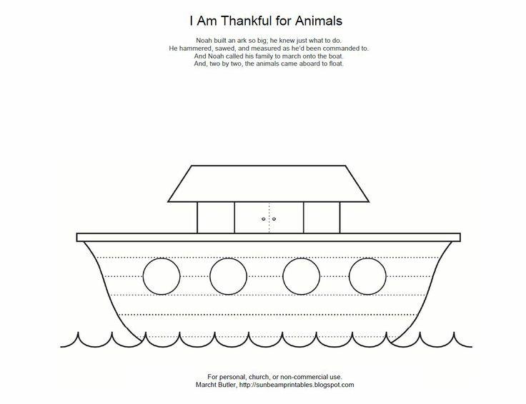 Animal Cutouts Printable Noah 39 s