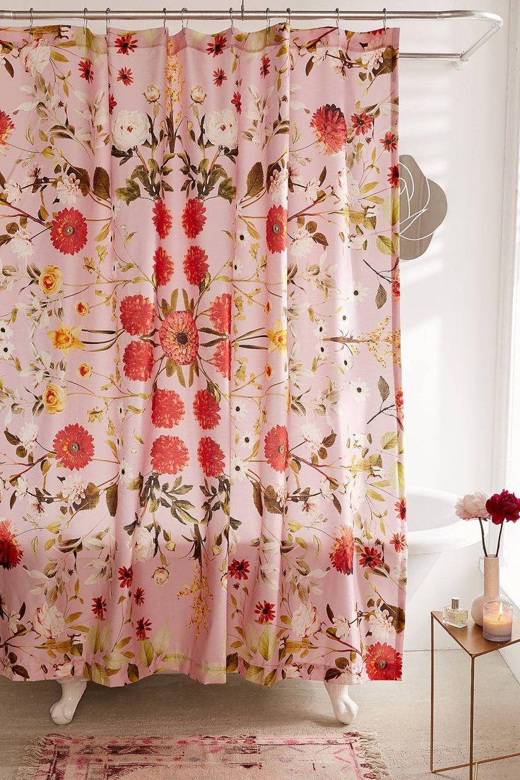 Daniella Floral Shower Curtain | Urban Outfitters