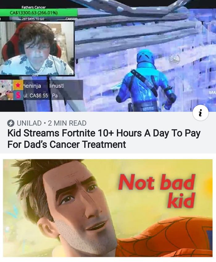 Have To Say Fortnite Good Memes Funny Memes Top Memes
