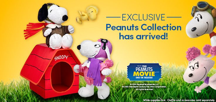NEW Peanuts Movie Collection at Build-A-Bear Workshop - Coupon Codes, Discounts   Best Deals for Kids