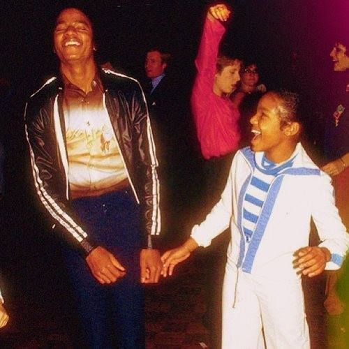 ♥ Michael Jackson ♥ - rare picture with Janet :)