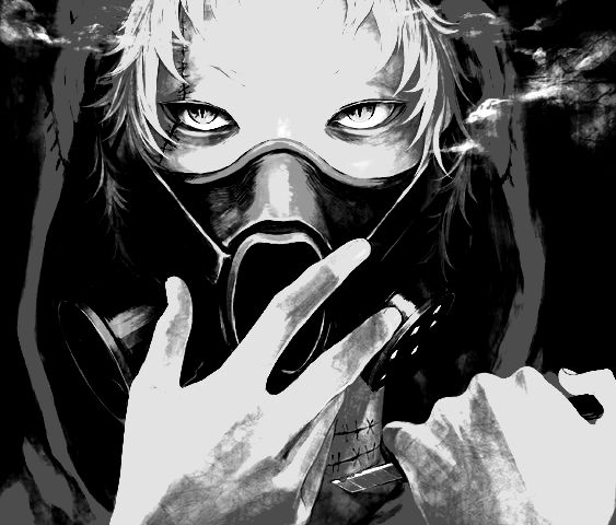 72 best images about Gas mask _ Anime boy & girl on ...