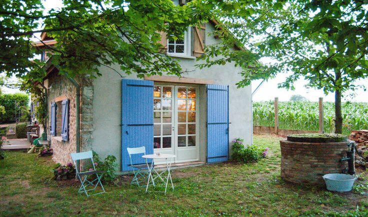 Een natuurhuisje in Frankrijk voor 6 personen.