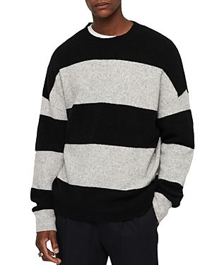 77d86b74e ALLSAINTS MAIRE STRIPED CREWNECK SWEATER.  allsaints  cloth ...