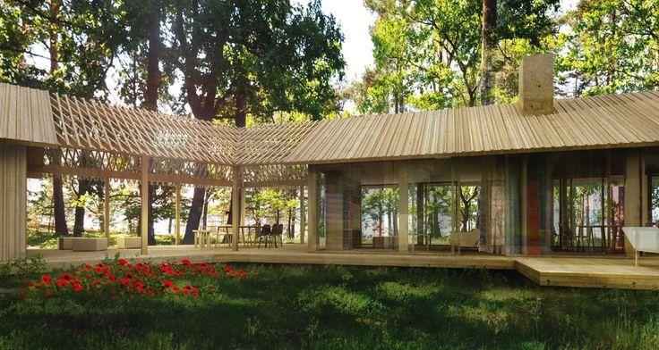 Individuellt projekt från Sommarnöjen: komplett lantställe i Stockholms skärgård.