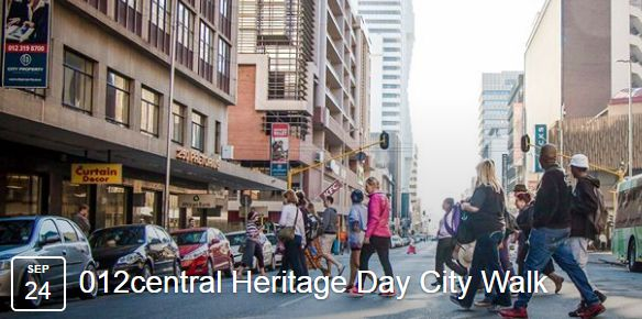 Pretoria Heritage Walk Event - 24 September 2016