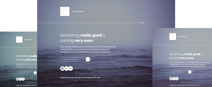 Launch - A free WordPress theme designed to help to kick-off your next website, product or service.