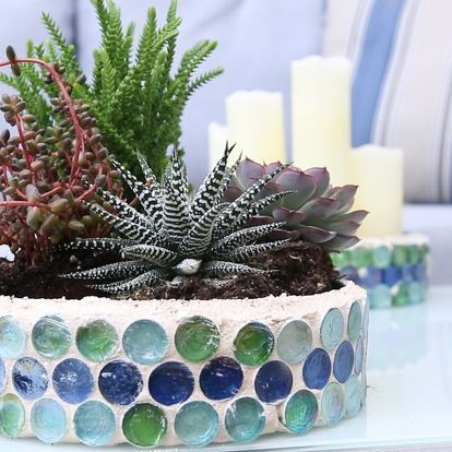 I am obsessed with this DIY upcycle! old Christmas cookie tins become fabulous succulent planters!