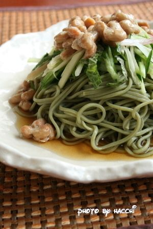 たっぷり薬味の茶そば by ハッチさん   レシピブログ - 料理ブログの ...