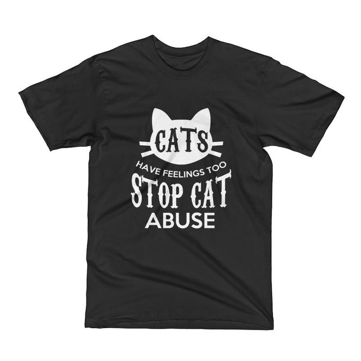 Stop Cat Abuse Short Sleeve T-Shirt  #dogs #tshirts #animals #pets #buyteeshirtsonline #teeshirts #cats #buytshirtsonline