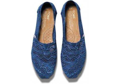 Cobalt Crochet Women's Classics | TOMS.ca