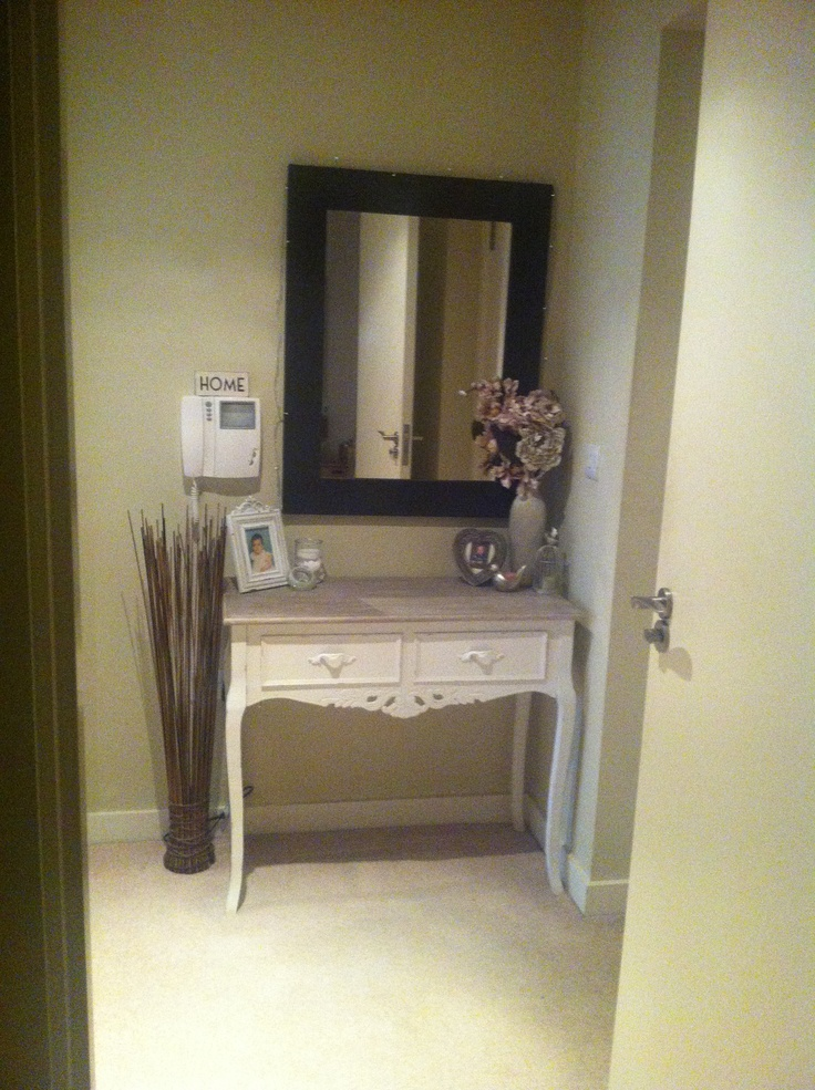Shabby chic hallway console table for the home pinterest console