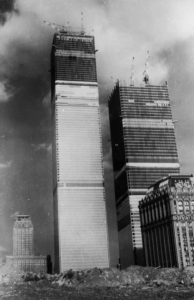 """The first """"World Trade Center"""" was conceived as an exhibit at the 1939 World's Fair in Flushing Meadows. A group of business and trade associations sponsored the center, which was advertised as a project to promote """"world peace through world trade.""""  The fair exhibit was temporary, but soon city bigwigs were talking about creating a permanent trade center."""