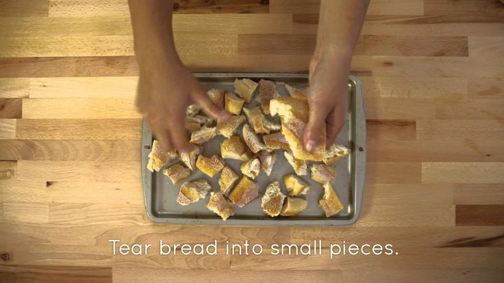 Money Saving Tip - Make Your Own Breadcrumbs